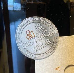 88 Point Award Label